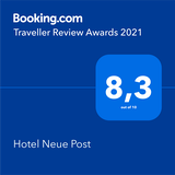 Booking.com Review Award 2021